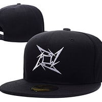 XINMEN Metallica Star Logo Adjustable Snapback Caps Embroidery Hats