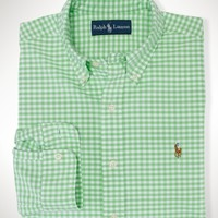 Classic-Fit Gingham Oxford