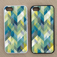 Cute Abstract Chevron iPhone Case, iPhone 5 Case, iPhone 4S Case, iPhone 4 Case - SKU: 193