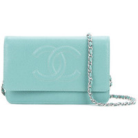 Chanel Vintage CC Chain Wallet Bag - Farfetch