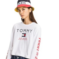 TOMMY JEANS LONG-SLEEVE TEE | Tommy Hilfiger