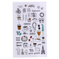 Cute Kids Cartoon Sticker Stationery Scrap booking Planner Stickers sticky Notes Office Supplies