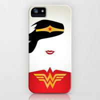Wonder Woman iPhone & iPod Case by RobozCapoz