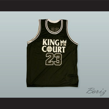 Michael Jordan 23 King of the Court Ceasar's Palace 1-On-1 Basketball Jersey