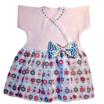 Baby Girls' Fancy Flowers Double Gauze Dress