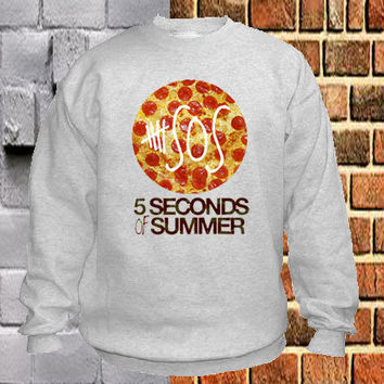 5 Seconds of Summer sweater Sweatshirt Crewneck Men or Women Unisex Size