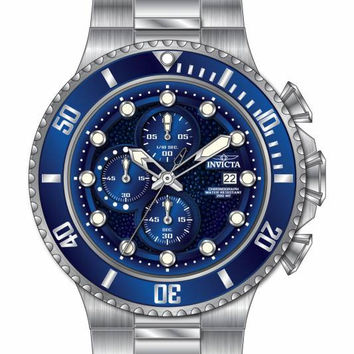 Invicta Men's 18907 Pro Diver Quartz Multifunction Blue Dial Watch