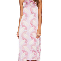 Aila Blue Jelita Maxi Dress in Pink
