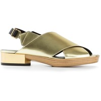 Calvin Klein Collection Metallic Sandal