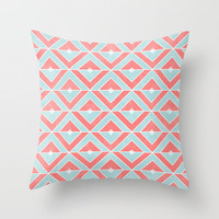 Diamond Throw Pillow by Dale Keys | Society6