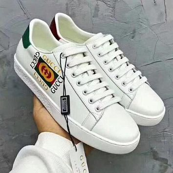 GUCCI Trending Women Stylish Comfortable Casual Flats Sport Shoes Sneakers I/A