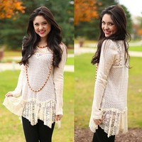 Fairy Dust Sweater Tunic