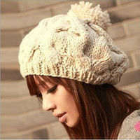 Ball Pattern Squash Knit Cap