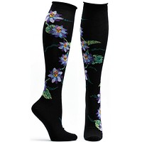 Passionvine Apothecary Florals Knee High Sock