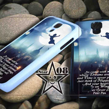 peter pan quote iPhone Case, iPhone 4/4S, 5/5S, 5c, Samsung S3, S4 Case, Hard Plastic and Rubber Case By Dsign Star 08