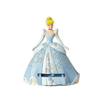 Disney Cinderella with Shoe Charm by Jim Shore