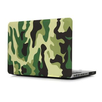 for macbook air case Camouflage 13 15 pro with retina 12 4 colors choose hard pc for apple mac book a1466