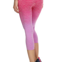 Ombre Yoga Capri - 4 Colors