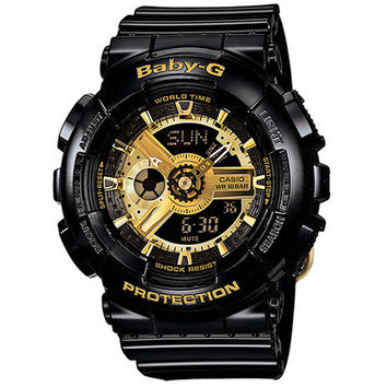 G-Shock Baby-G Ba-110-Watch Black/Gold One Size For Women 24356377401