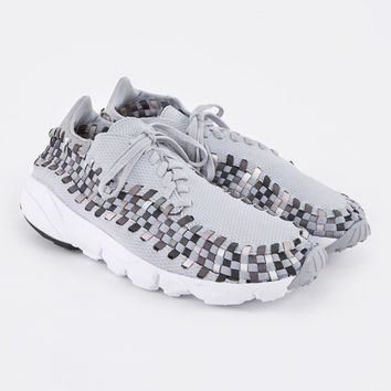 Nike Air Footscape Woven NM Shoe - Wolf Grey/Black-Dark Grey-Whi