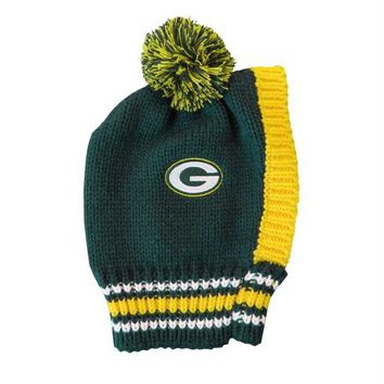 DCCKT9W Green Bay Packers Pet Knit Hat
