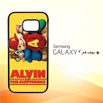 ALVIN AND THE CHIPMUNKS F0267 Samsung Galaxy S6 Edge Plus Case