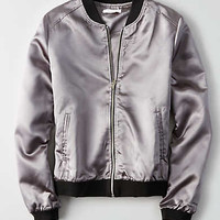 Don't Ask Why Metallic Bomber, Silver
