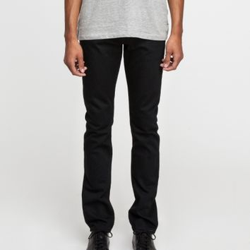 Baldwin Denim The Henley in Black Rinse