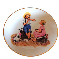 Norman Rockwell, Music Master, Rockwell Plate, Collectible Plate, Rockwell Museum, Hand painted Plate, Norman Rockwell Gift, Easter Gift
