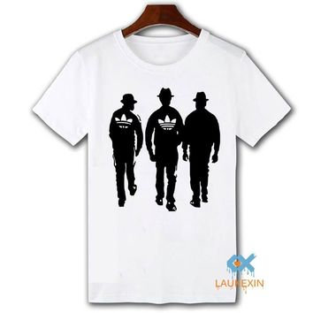 Classic Run DMC 80S T shirt Unisex Summer 2016 Hipster Camisetas Tops Tee Shirt Hip Hop Music  T-shirt For Men Women Plus Size