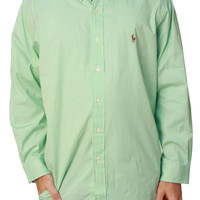Ralph Lauren Men's Custom Fit Button Down Dress Shirt