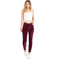 Corduroy Spectrum High Rise Skinnys