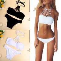 New Women Fashion Push Up Sexy Vintage Summer Swimwear