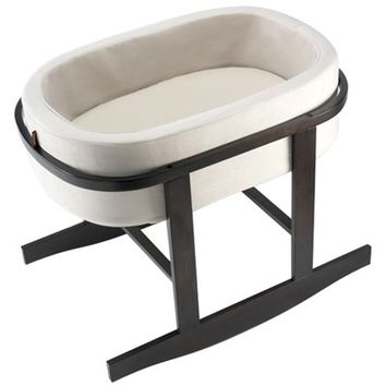 Monte Design Ninna Nanna Dark Brown Bassinet