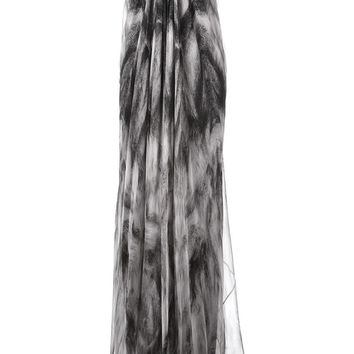 Alexander McQueen strapless evening dress