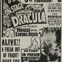 HORROR SHOW POSTER Movie Festival RARE HOT VINTAGE