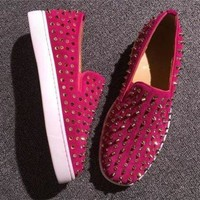PEAPNW6 Cl Christian Louboutin Flat Style #717