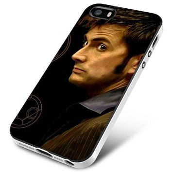 Tenth Doctor With Gallifreyan iPhone 5 | 5S | 5SE Case Planetscase.com