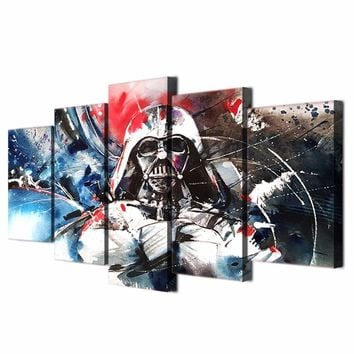 HD Printed Darth Vader Star Wars Wall Art on Canvas Abstract Print Picture