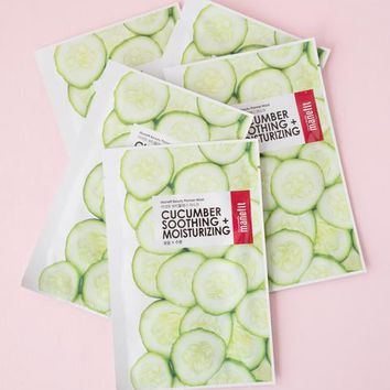 MANEFIT Beauty Planner Cucumber Sheet Mask Set – Soko Glam