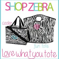 Deal of the Week: Zebra Cooler Bag & Fun Tote - Caytee Belle's Closet