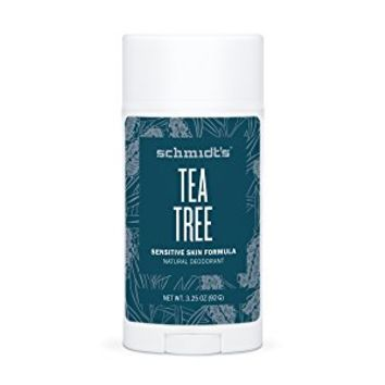 Tea Tree Sensitive Skin Deodorant Stick (3.25 oz.) 92G Odor Protection & Wetness Relief; Aluminum-Free