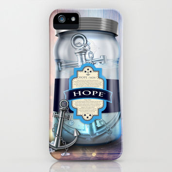 """Soul Purpose"" Collection Hope in Color / Mason Jar Art iPhone & iPod Case by soaring anchor designs ⚓ 