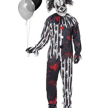 Adult Freakshow Clown Costume - Spirithalloween.com