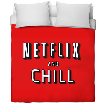 Netflix N Chill Cover Following Up With A Pillow😏💯