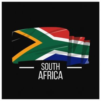 South Africa Wall Art - South African Pride Patriotic Vintage Canvas