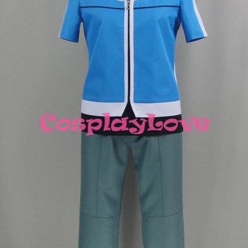 Pokemon Go XY Pokemon Pocket Monster Ash Ketchum Cosplay Costume Custom Made Halloween Christmas Costume