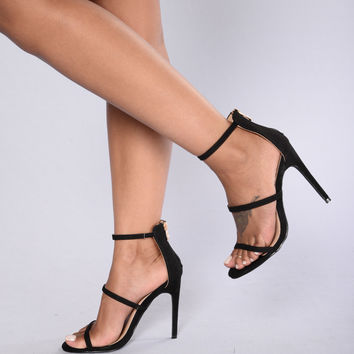 Californication Heel - Black