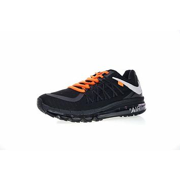 NIKE AIR MAX 2015 Running Shoes Sneaker OW BLACK 698902-006