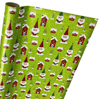 Gnome Holographic Gift Wrap
